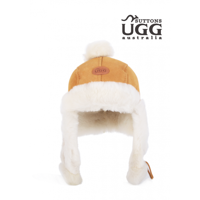SHEEPSKIN POM POM CAP AS508