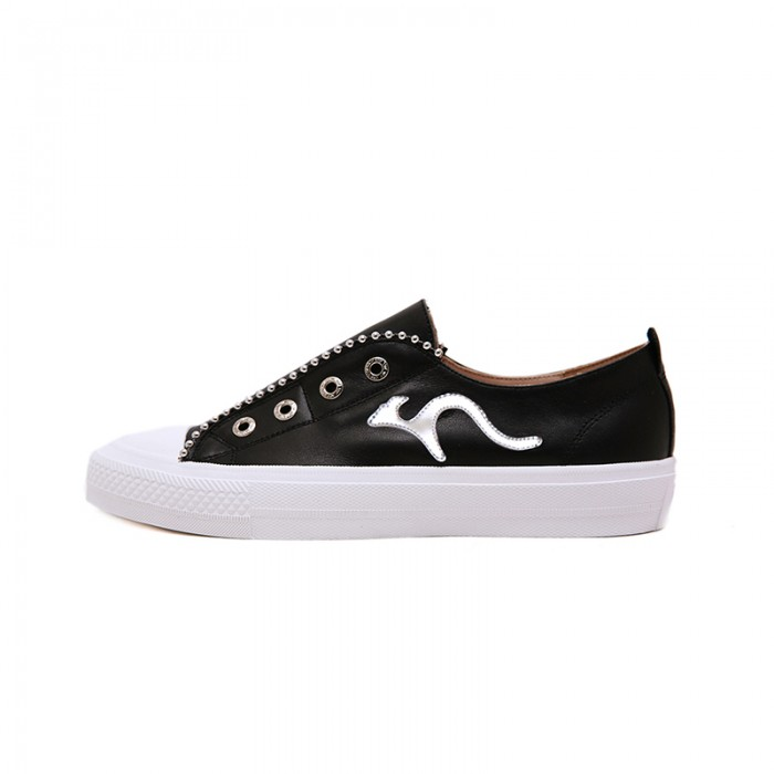 Leather Sneaker Slip On K5111
