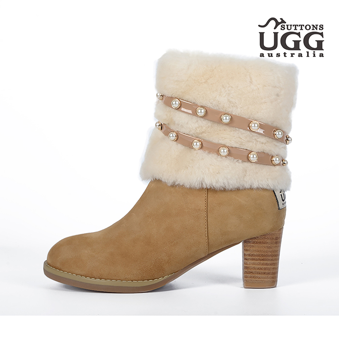 Wooltop High Heeled Boots R302