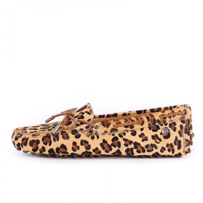 Lady's Leopard Driving Shoes K323